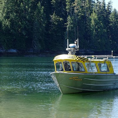 Thanks for the drop off James! Have a safe trip back to Telegraph Cove.