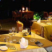 H Bistro Table Setting