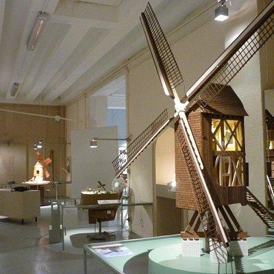 Plus d'une trentaine de maquettes de moulins vous attendent dans ce musée !