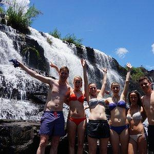 2 water fall tours