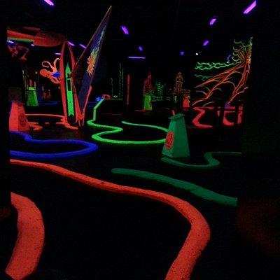 Black Magic Indoor Blacklight Mini Golf
