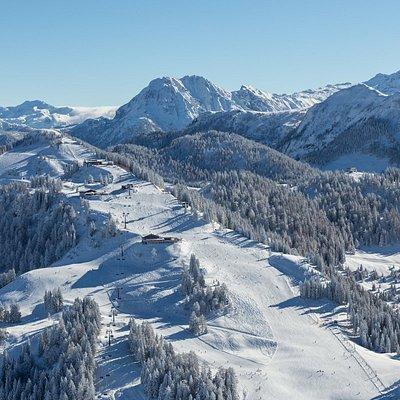 Skigebiet Alpendorf in Sankt Johann im Pongau, Ski amadé