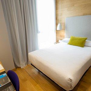 The Single Room at the Hotel Zenit San Sebastian