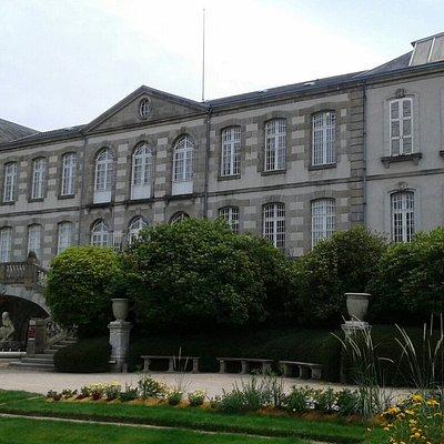 Façade du musée de Guéret