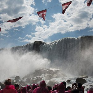 Hornblower Cruise of Niagara falls on the Adventure Pass