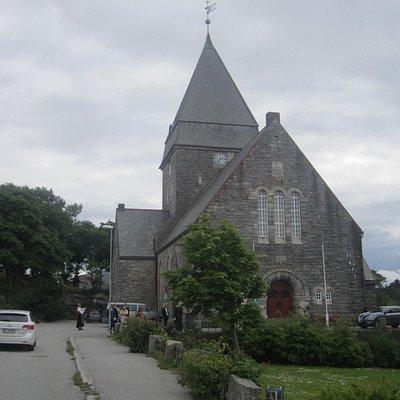 Свадьба у собора в Кристиансунде