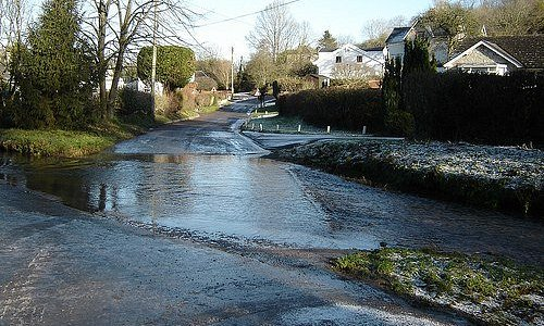The ford in Llancarfan