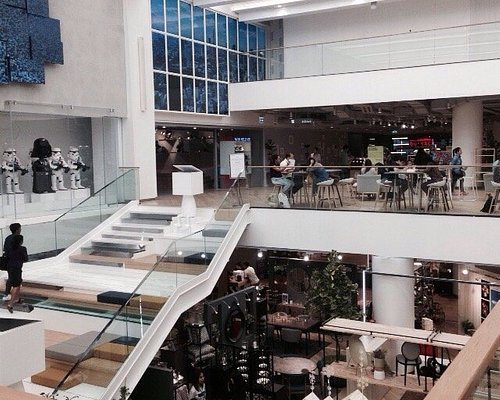 Modern, contemporary and stylishly designed mall