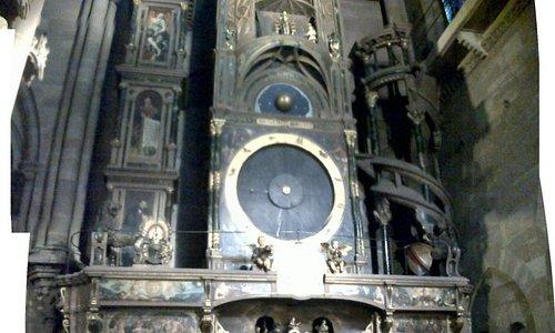 Reloj astronómico de la Catedral de Notre-Dame.