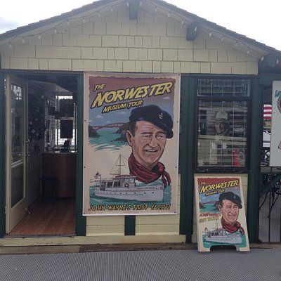 The Norwester souvenir shop. So many awesome goodies!