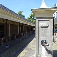 waterpomp van voormalige vismarkt Alkmaar