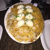 A Chicken Biryani Plate for a Family.
