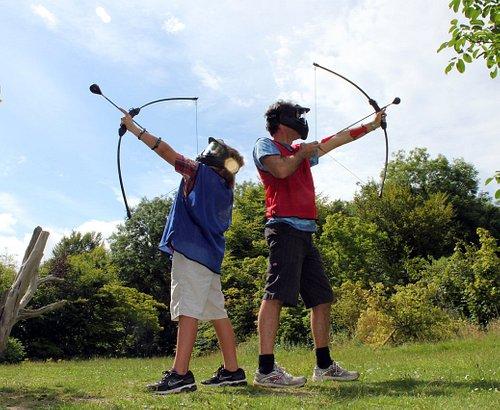 Bow Arrow Tag Archery Brighton UK