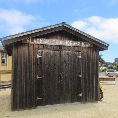 Blacksmith Shop, Colma Museum, Colma, CA