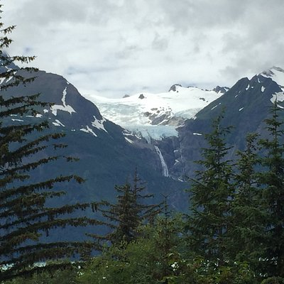 View from Trail of Rainbow Glacier