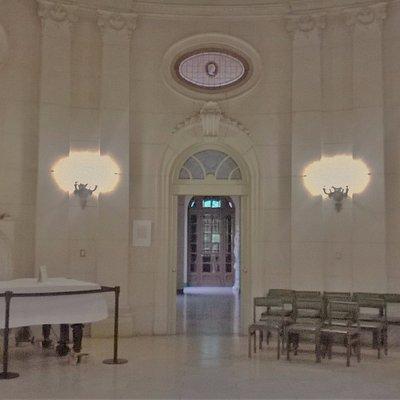 Salón central para conciertos.