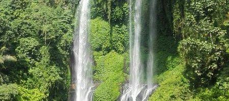 Sekumpul waterfall trekking point...7 waterfalls on one large area for nice experience on north