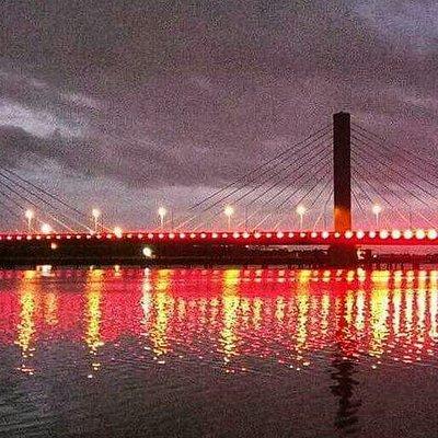 Kigamboni bridge at night 👌