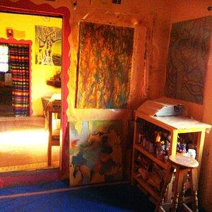 Nina's Colorful Studio invites inspiration!