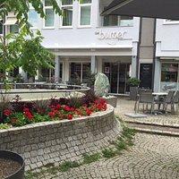 Cafe Burger, leider zu ( Sonntag )