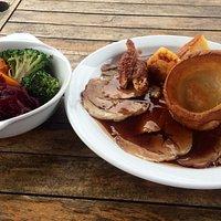 Roast Pork & veg