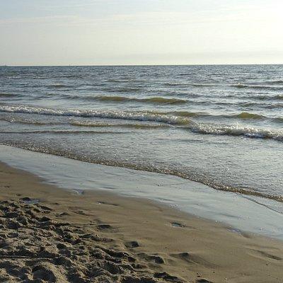 de Noordzee vanaf strand Wijk aan Zee