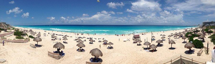 Cancun Ankunft