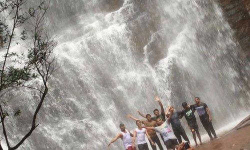 Jhari waterfalls - On the way to Baba budangiri