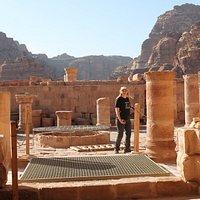 Iglesia Bizantina: Restos de la edificación