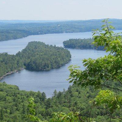 Close up of lakes