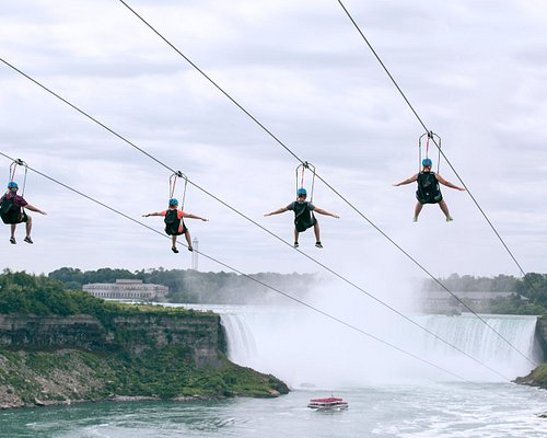 One-of-a-kind Niagara Falls view.