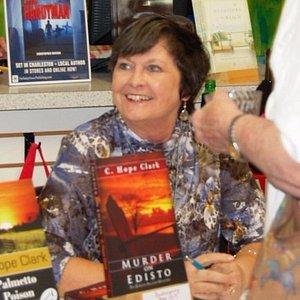 Signing at Edisto Bookstore. Always a pleasure.