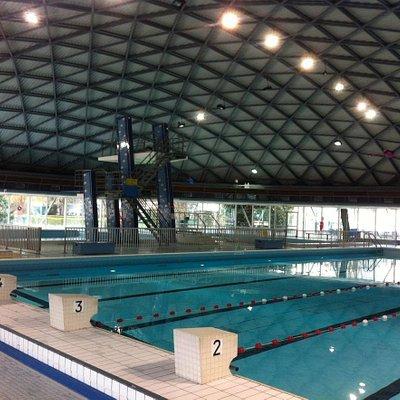 DRANCY (93 - Seine-Saint-Denis, France) - Stade nautique