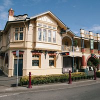 The historic Koroit Hotel,commonly known as Mickey Bourke's.