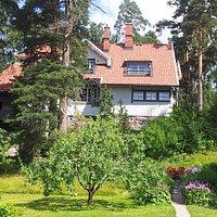 Ainola, Home of Composer Jean Sibelius
