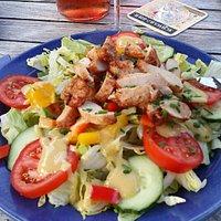 Salat mit Putenbrust