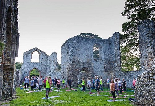 Summer Soltice Yoga at Beeston Priory