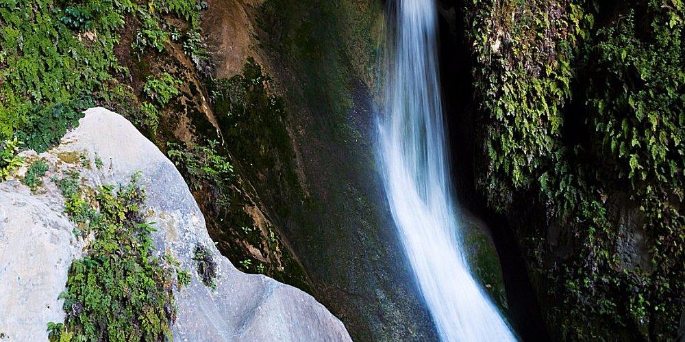 Detalle de la Cueva del Agua. Quesada