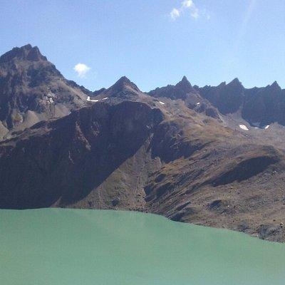 lago dei Sabbioni e pinta del Gries