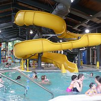 Pool area in community center