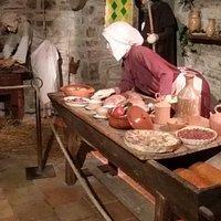Le début de notre voyage au Moyen Age...