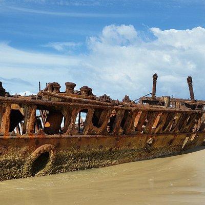 Maheno shipwreck