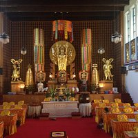 The Temple's Meditation Area
