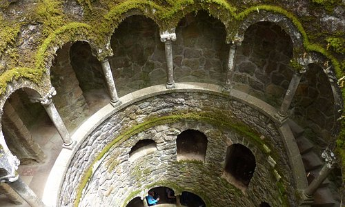 Initiation Well at Quinta da Regaleira - brilliant attraction