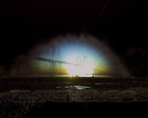 Imagen de la fuente de Aguas Danzantes en el Paseo del Bicentenario
