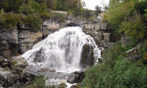 Falls from below