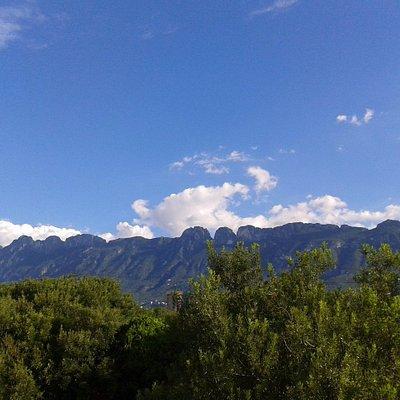 Chipinque seen from San Pedro Garza Garcia.