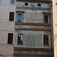 La casa del Mantegna , realmente abitata dalla figlia