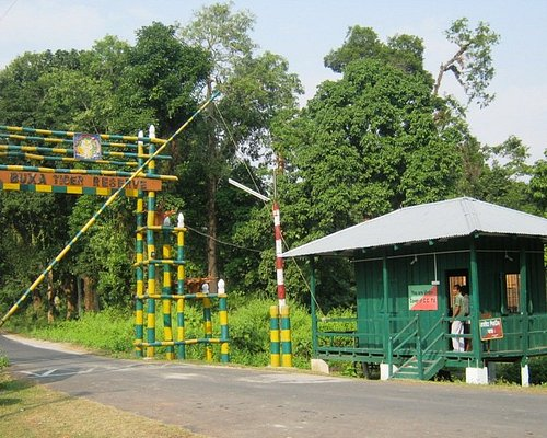 Gate of Buxa Tiger Reserve
