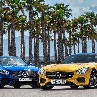 Открой Сочи за рулем Mercedes-Benz